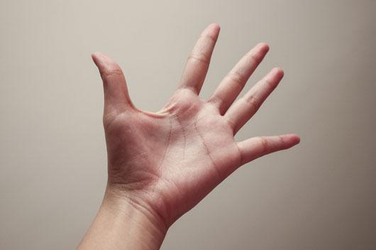 手掌中有星纹的手相好吗