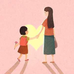 妈妈也是第一次当妈妈,请你别怪她