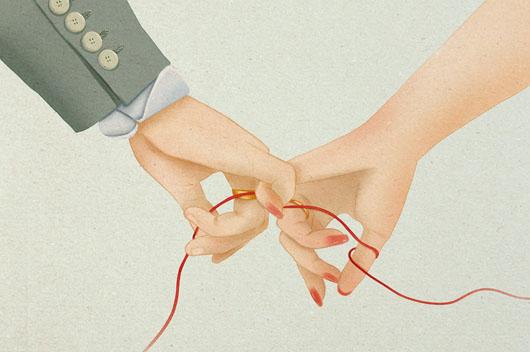 比牵手更动人的是牵心!你们能一世牵心吗?