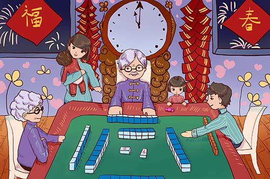 2020年2月打牌赢钱每日财神方位查询