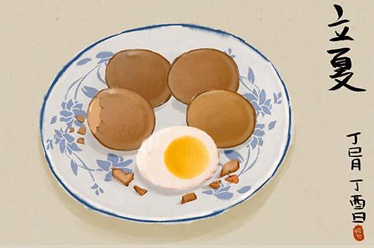 立夏为什么要吃鸡蛋