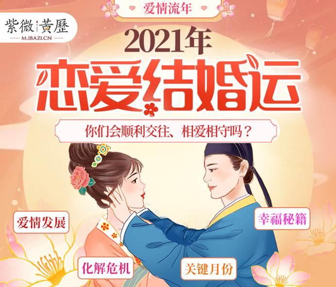 2021年恋爱结婚运